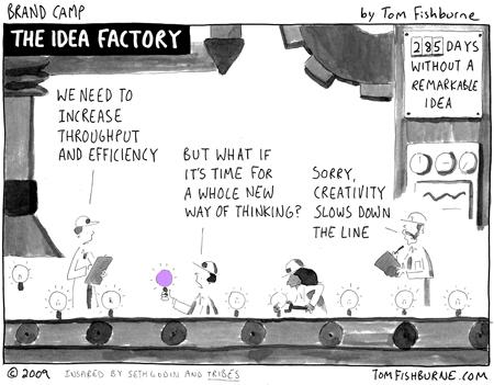 Brand camp idea factory